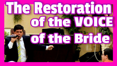 "Pastor Shane Vaughn PREACHES LIVE -""The Restored Voice of the Victorious Bride"" the power of PRAISE"