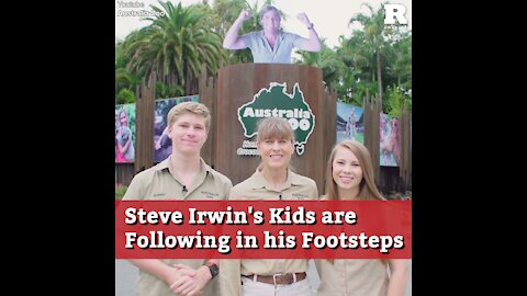 Steve Irwin's Kids are Following in his Footsteps