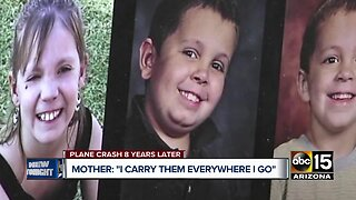 Mother remembers children killed in plane crash back in 2011