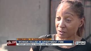 Apartment fire leaves one person dead, multiple people displaced