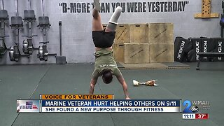 Marine veteran hurt helping others on 9/11 finds new purpose