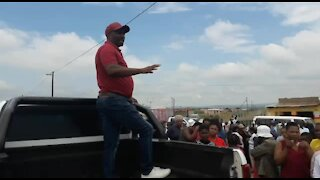 SOUTH AFRICA - Durban - Ladysmith protests (Videos) (twX)