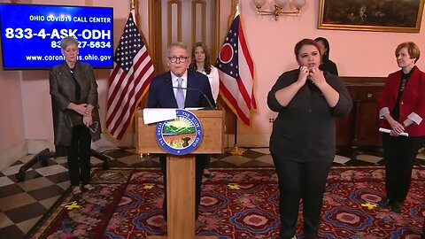 DeWine coronavirus news conference March 19