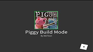 Roblox {I built Among us in Piggy Mode}