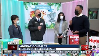 Mayor Goh and Councilman Andrae Gonzales joined us for our second Annual Bakersfield Baby Shower