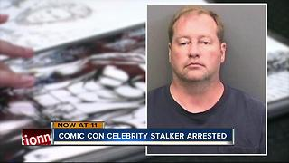 Man arrested for stalking at Tampa Comic Con - Video