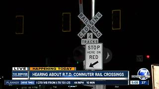 Hearing today on A-line crossings - Video