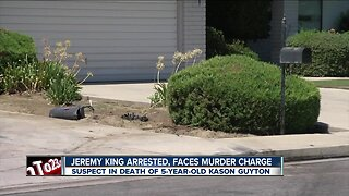 Jeremy King arrested, now facing murder charges