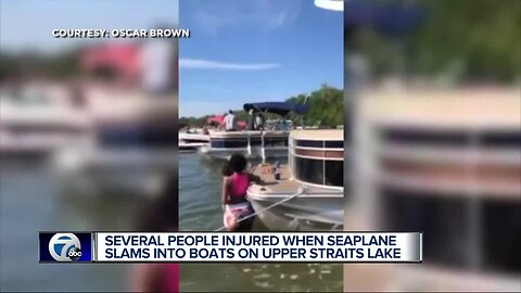 Witnesses describe seaplane crash on Upper Straits Lake: 'I thought it was a joke'