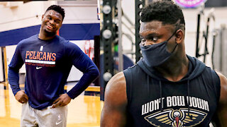 Zion Williamson Looks Insanely Fit Going Into 2nd Season After People Roasted Him For His Size