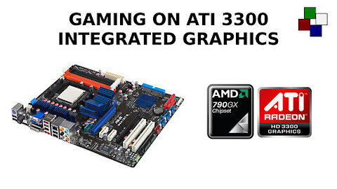 Can you game on Ati 3300 integrated graphics?