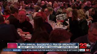 38th annual Bakersfield Prayer Breakfast - Video