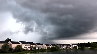 'Hook Echo' Storm Makes Its Way Across Washington Suburbs - Video