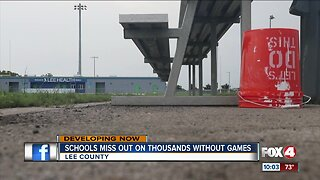 Impact of canceled Lee County football games