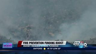 Governor says drought requires more wildfire prevention cash - Video