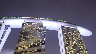 Stunning time-lapse featuring Singapore at night