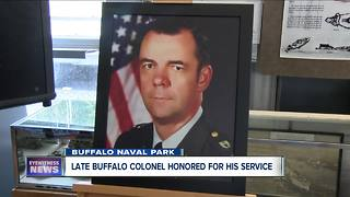 Late Buffalo Colonel honored - Video