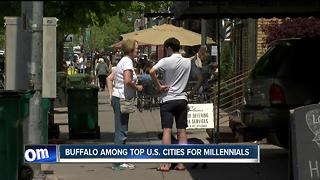 Buffalo ranked 12th among cities where millennials are moving--6pm - Video