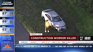 Construction worker killed by drunk driver in hit-and-run on I-75