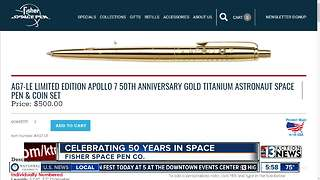 Fisher Space Pen celebrating 50 years