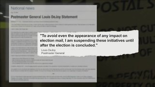 Postmaster General reverses course