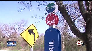 911 emergency locators on Indy trails don't work - Video