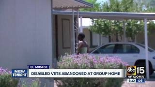 Disabled vets abandoned at El Mirage group home - Video