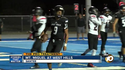 Pro Treatment: West Hills High faces off with Mt. Miguel