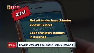 Security concerns over money transferring apps - Video