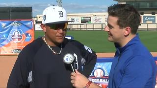 Miguel Cabrera speaks at Spring Training on new season