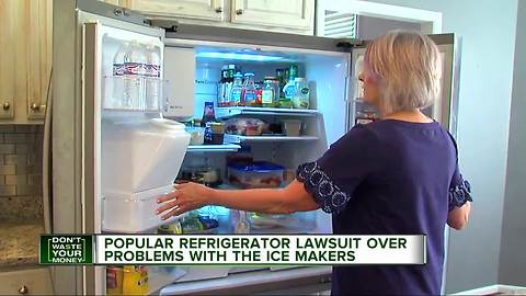 The maker of a popular refrigerator is facing a lawsuit over icemaker problems.