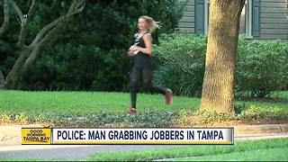 Tampa Police warn joggers to be on alert after two women report being assaulted while jogging - Video