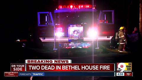 2 dead, 1 missing in Bethel house fire