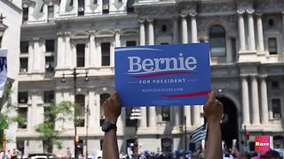 Feeling the Bern at DNC | Rare America - Video