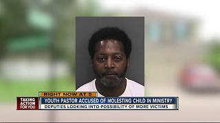 Youth pastor accused of molesting child in ministry - Video