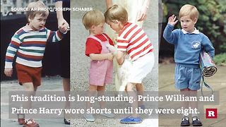 Finally: The Story Behind Why Prince George Always Wears Shorts - Video