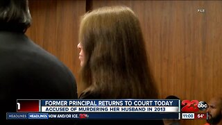 Former principal returns to court today