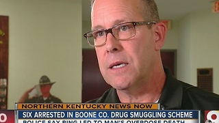 Six arrested in Boone County drug smuggling scheme - Video