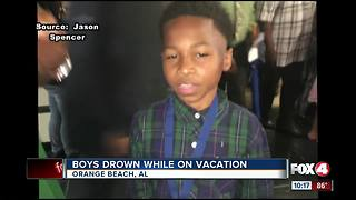Two boys drown, family vacation in Panhadle ends in tragedy - Video
