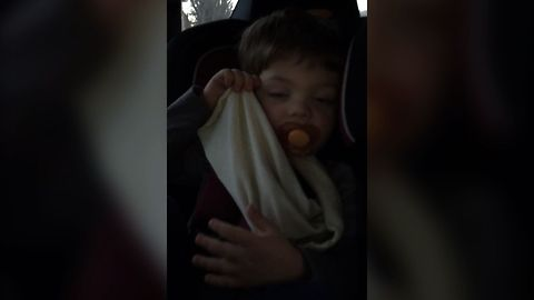Baby Boy Can't Stand Parents' Singing