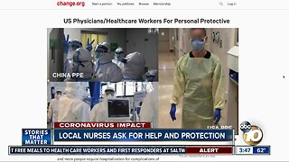 Nurses plead for help during coronavirus pandemic
