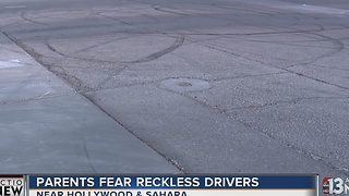 Las Vegas police patrol area for reckless drivers - Video