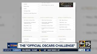 Try the Official Oscars Challenge - Video