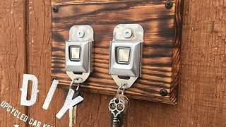 Recycled Seatbelt Buckles Make Great Keychains - Video
