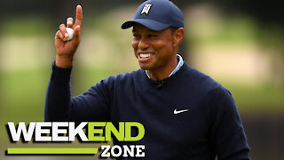 Tiger Woods Running Late To Meet Drew Brees Before Crash, Kid Called Out For Trashing Cam Newton