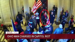 31-year-old Ohio man arrested on charges stemming from Capitol riot