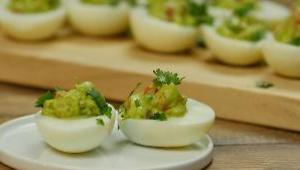 Guacamole Deviled Eggs - Video