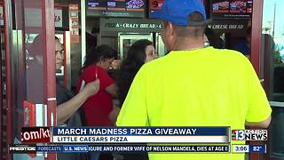 March Madness pizza giveawy by Little Caesars