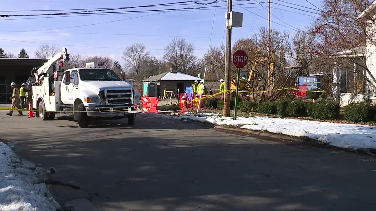 Multiple streets in Wellington closed due to gas transmission issue
