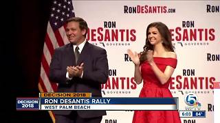 Ron DeSantis holds rally in West Palm Beach